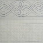 Musterelement, durch festes Aufdrücken kopiert (und korrigiert)