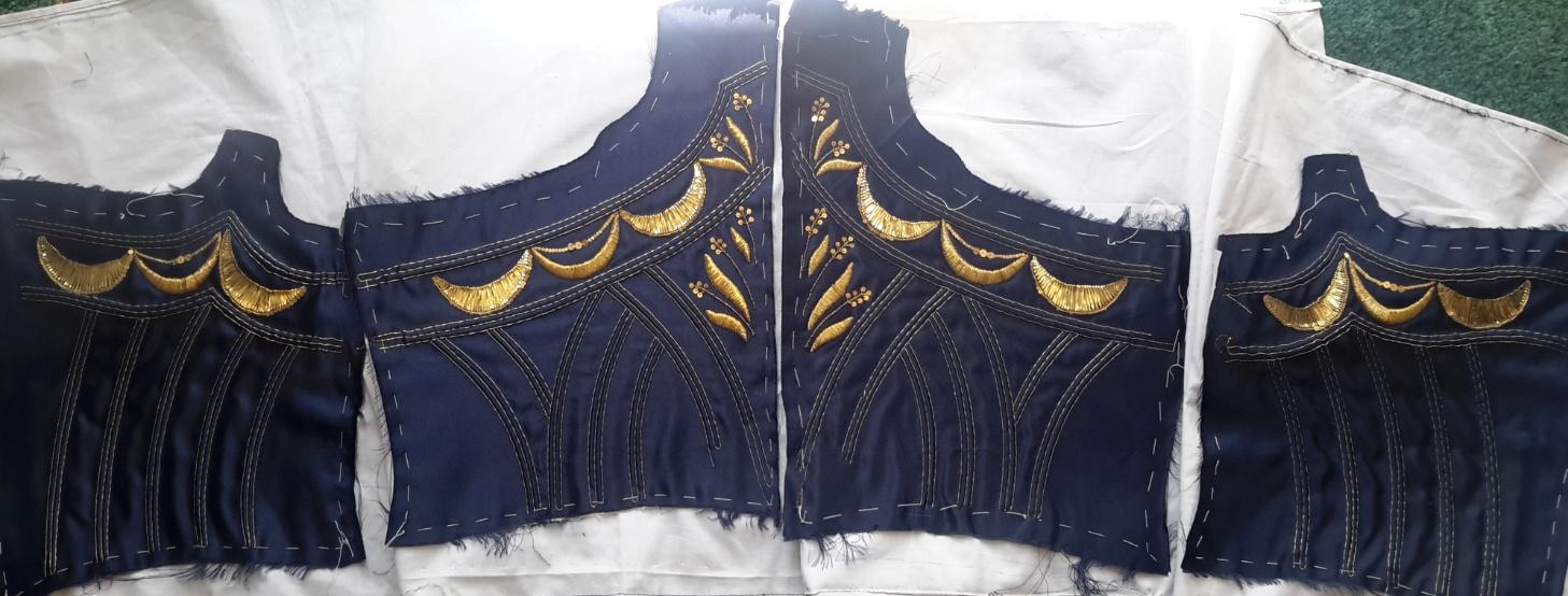 Textile Pprojekte bei marquise.de » Mieder